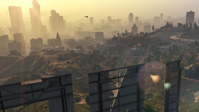 Grand Theft Auto 5 PC 60fps gameplay footage