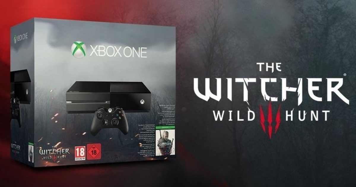 xbox one ter pack com the witcher 3 wild hunt. Black Bedroom Furniture Sets. Home Design Ideas