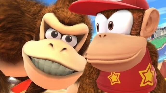 Patch für Super Smash Bros. Wii U schwächt Diddy Kong ab