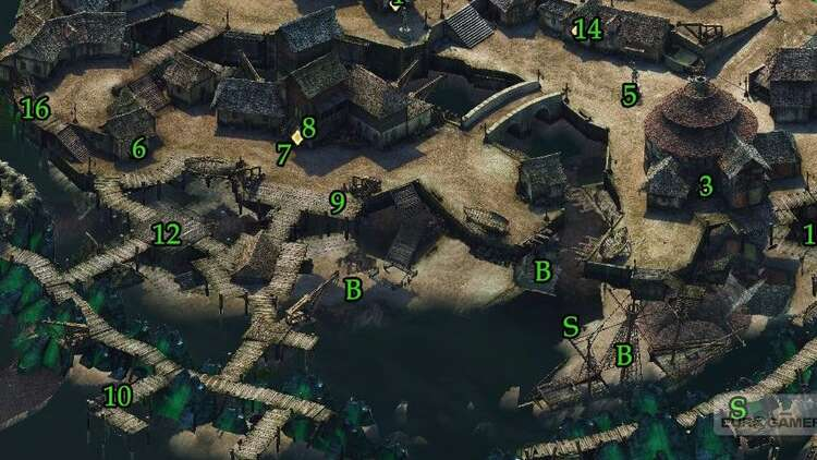 Mapa Pillars Of Eternity.Pillars Of Eternity Zatoka Buntu Dar Ondry Mapa I