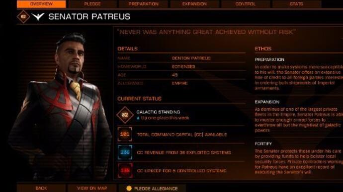 Powerplay update makes Elite: Dangerous a lot more interesting