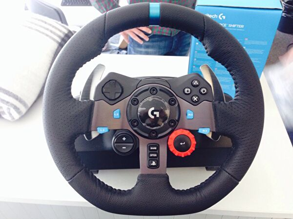 LEAKED Logitech G29 Racing Wheel