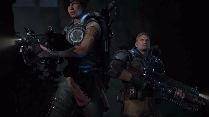 Gears of War 4 announced, gameplay footage revealed