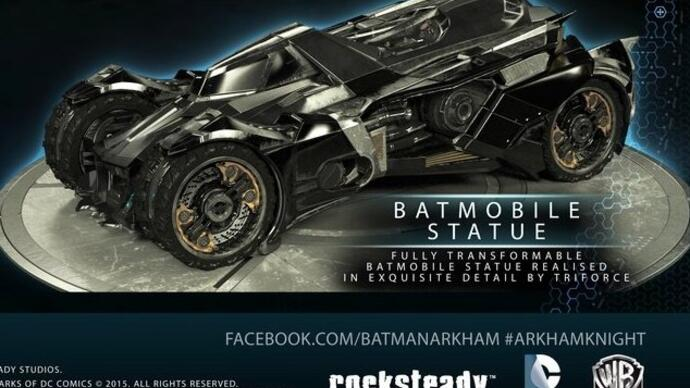 Batman: Arkham Knight's £170 Batmobile Edition has been cancelled