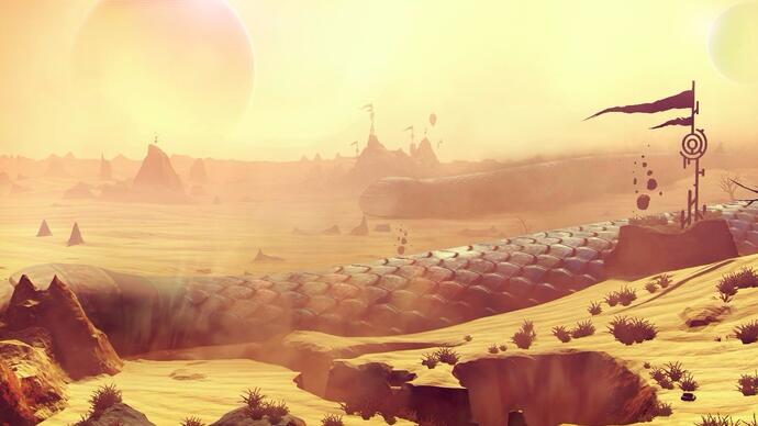 No Man's Sky si mostra in un lungo video gameplay