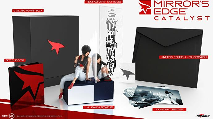 Kolekcjonerka Mirror's Edge Catalyst