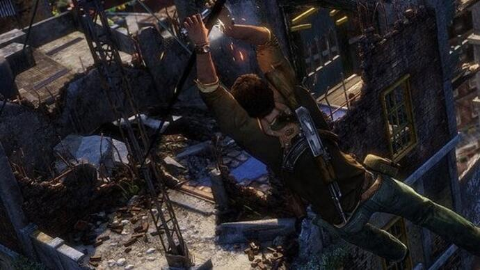 Take a look at Uncharted 2 remastered for PlayStation4