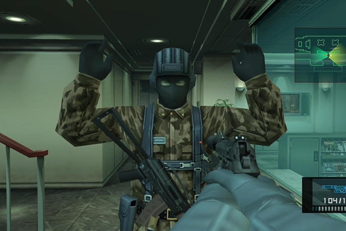 Metal Gear Solid 2 The First Postmodern Video Game Eurogamer Net