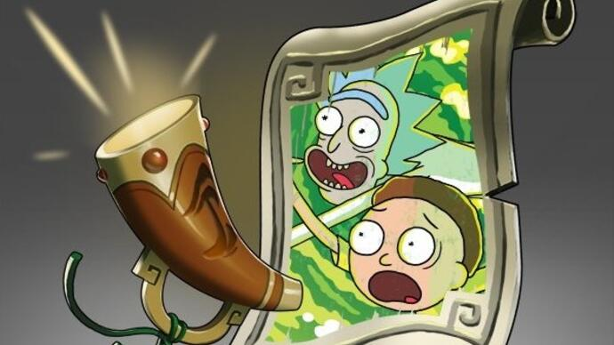 Dota 2's Rick and Morty announcer pack out now