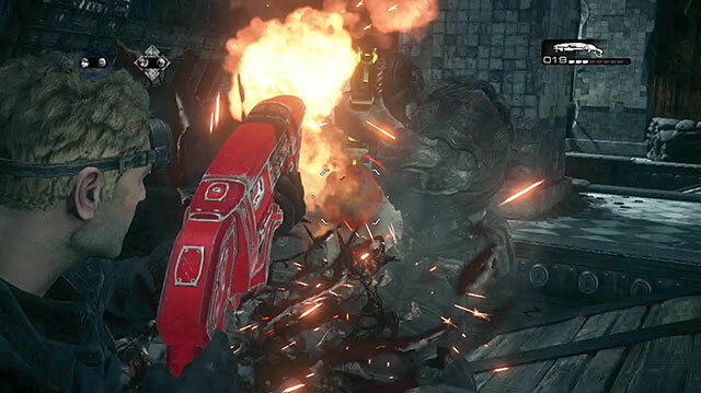 Gears of War Ultimate Edition's New Gnasher Execution Mode Gets Messy Fast