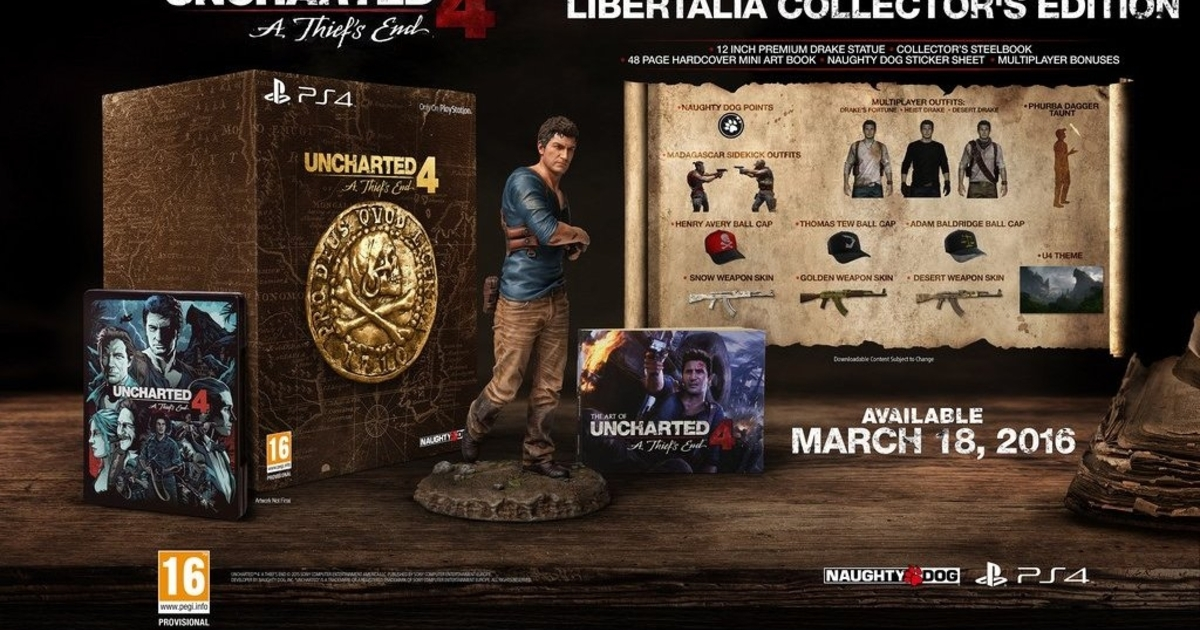 uncharted 5 release date Uncharted 4: A Thief's End