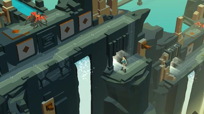 Recension: Lara Croft GO