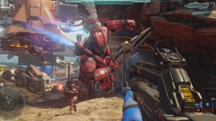 Video: Watch 20 minutes of Halo 5 Warzone gameplay