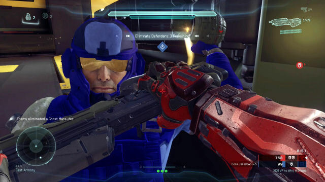 Halo 5's Warzone Mode is Vast, Objective-Based Multiplayer