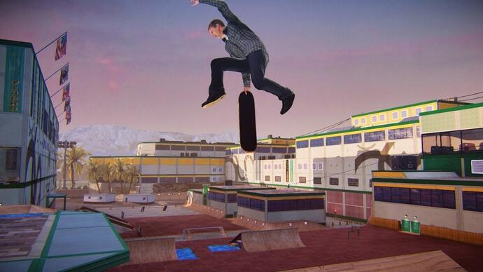 Day one patch Tony Hawk's Pro Skater 5 is 7.7 GB groot