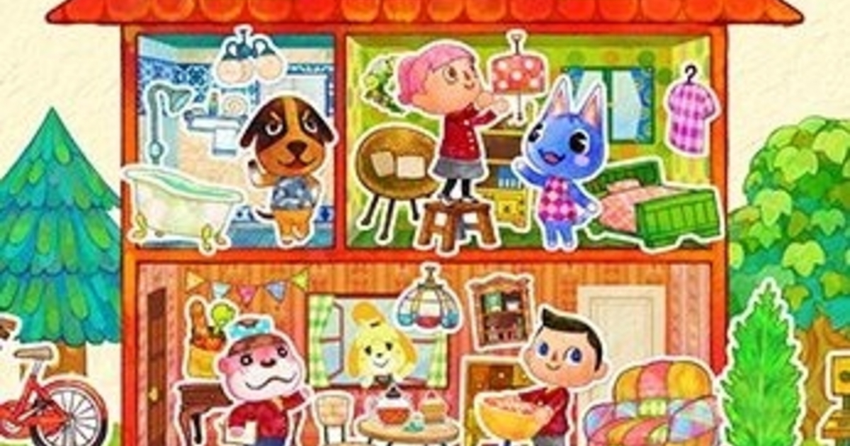 Animal crossing happy home designer an lise for 7 11 happy home designer