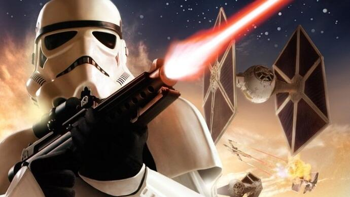 Gameplay of canned Star Wars Battlefront 3 shows impressive ground-to-spacetech