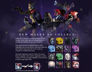 Hats off to Destiny for its mask-filled Halloween event ...