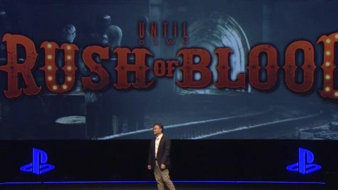 Until Dawn: Rush of Blood announced for PlayStation VR