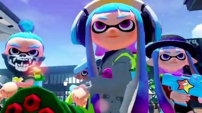 Here's your first look at the new Splatoonupdate