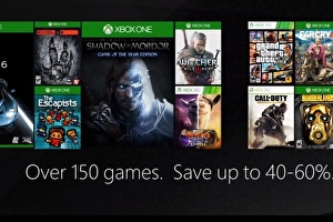 Xbox One and Xbox 360 Black Friday sale live