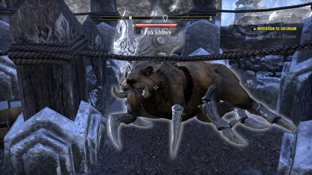 The Elder Scrolls Online's Orsinium DLC Contains Giant Spider Hamsters