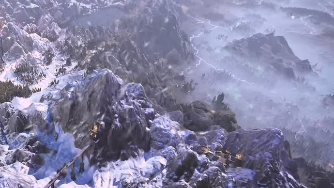 Glimpses of Total War: Warhammer's stylish campaign map in newtrailer