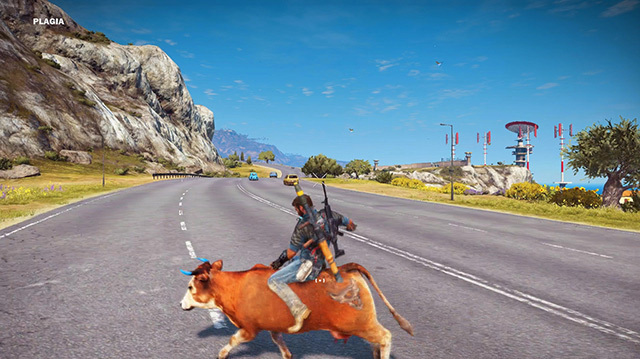 We Go Cow Riding in Just Cause 3 on Xbox One