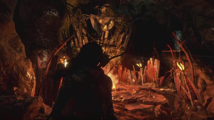 Rise of the Tomb Raider reveals Baba Yaga DLC in new trailer
