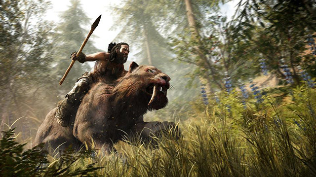 We Tame a Saber-Toothed Tiger in Far Cry Primal