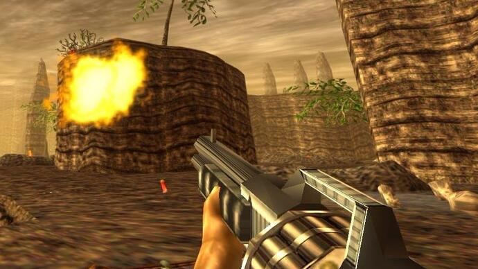 More pictures of the Turok remaster excavated