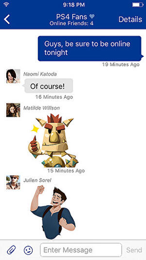 PlayStation messages now have their own app • Eurogamer net