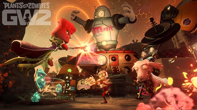 Plants vs Zombies: Garden Warfare 2 has some unexpected