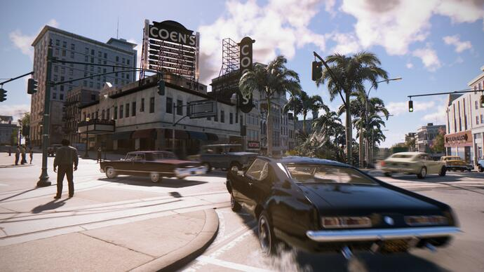 Watch 12 minutes of Mafia 3 gameplay