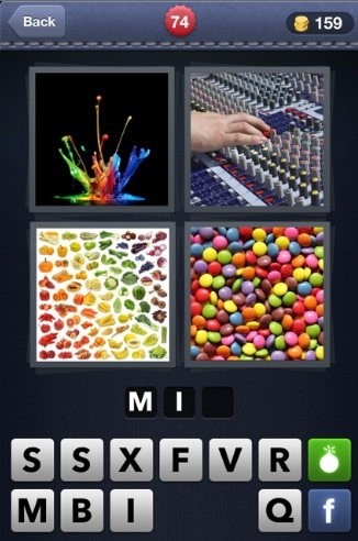 What's The Word? 4 Pics 1 Word Cheats- Puzzles Galore