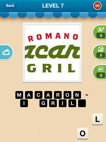 hi guess the restaurant cheats  answers  u0026 solutions  level 51