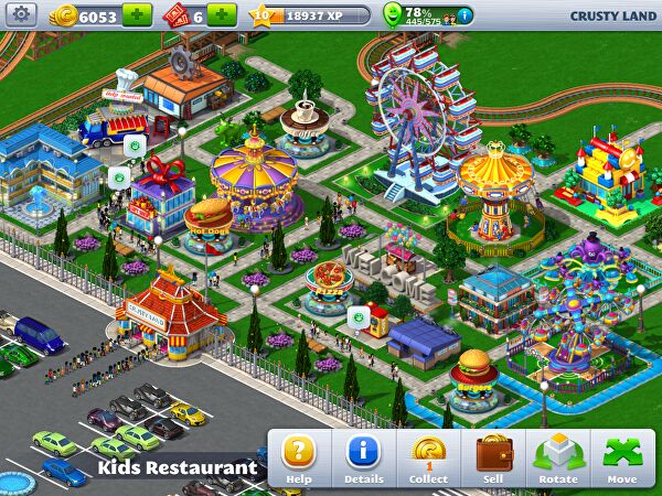 Rollercoaster tycoon 4 mobile review for Coaster design ideas