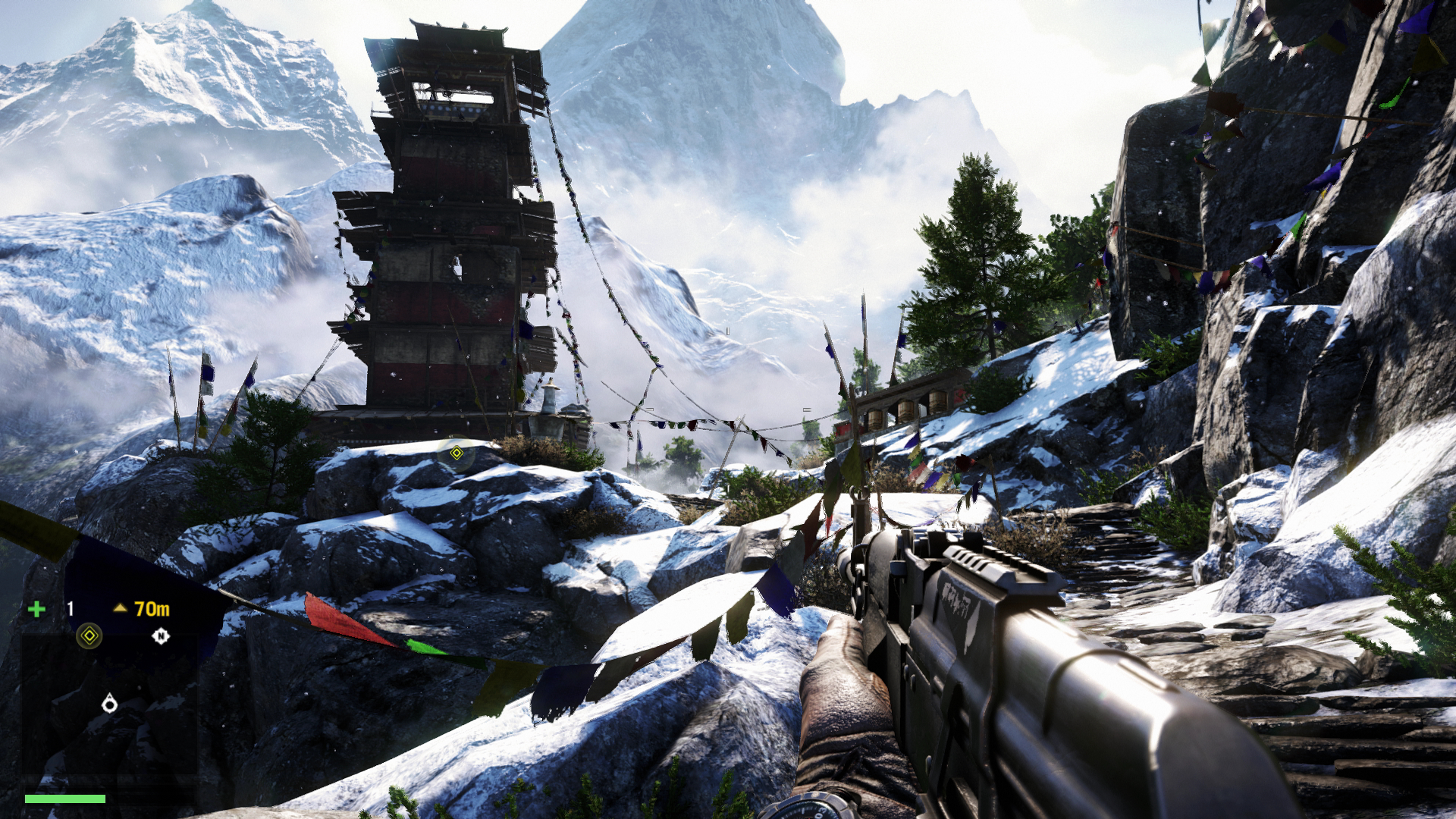 far cry 4 how to make it mindowed