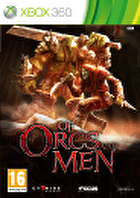 Packshot for Of Orcs and Men on Xbox 360
