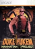 Packshot for Duke Nukem: Manhattan Project on Xbox 360