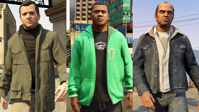 GTA V. Love the Game. The Characters? Not so Much.