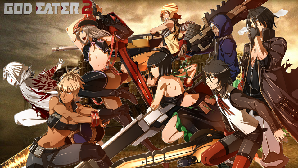 TGS  God Eater 2 is Like One of My Japanese Animes  Also  Like Monster    God Eater 2 Psp English Patch