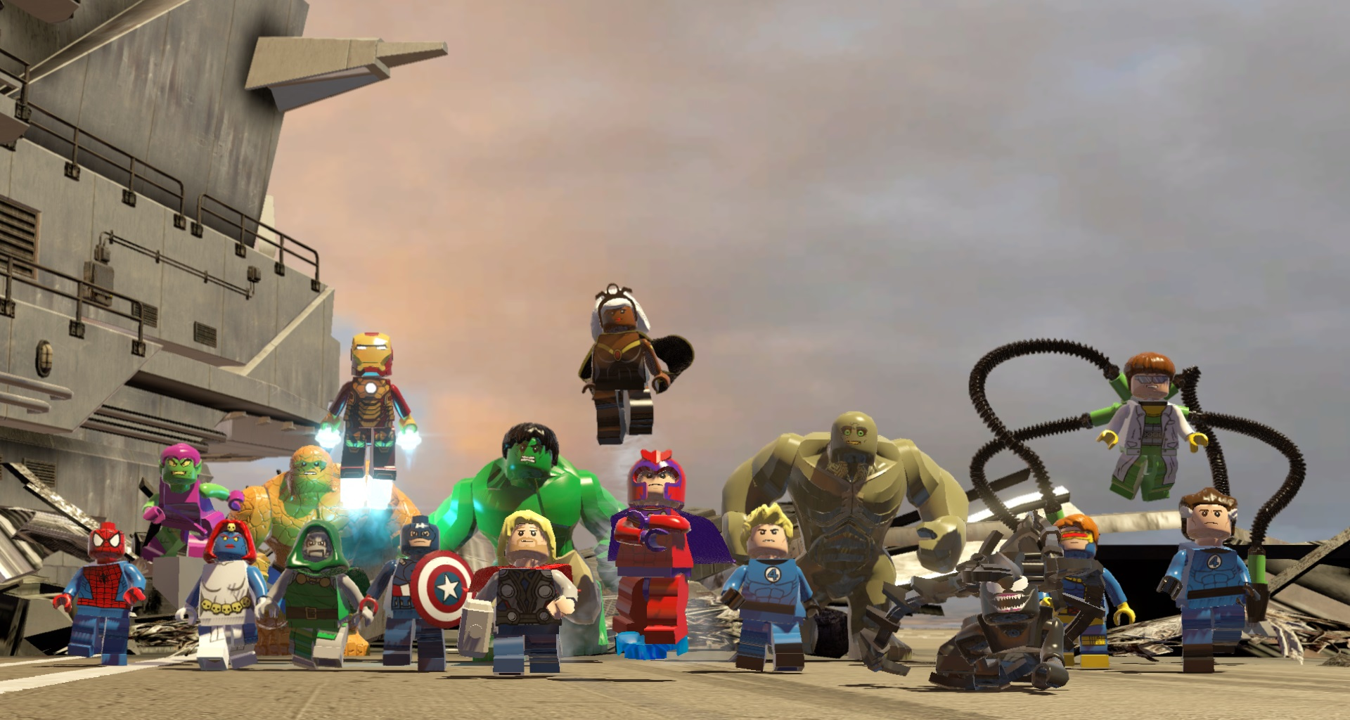 How Many Heroes Are in Lego Marvel Superheroes? Review | USgamer