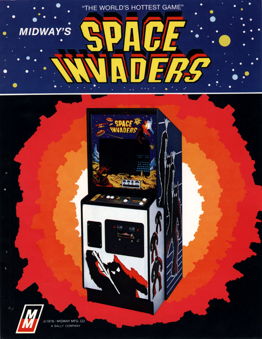 Top 10 highest grossing arcade games of all time usgamer for Space invaders
