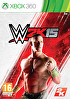 Packshot for WWE 2K15 on Xbox 360