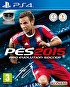 Packshot for PES 2015 on PlayStation 4