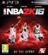 Packshot for NBA 2K16 on PlayStation 3