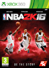 Packshot for NBA 2K16 on Xbox 360