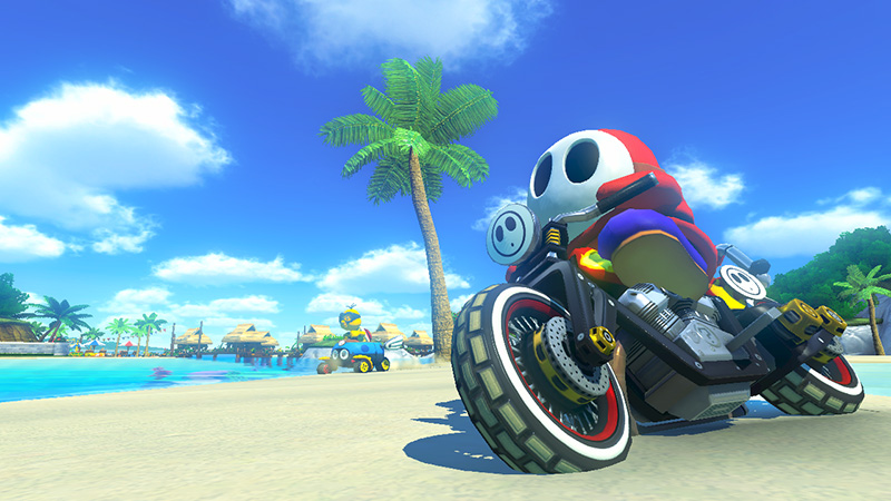 Bikes Mario Kart 8 Onto the new weapons