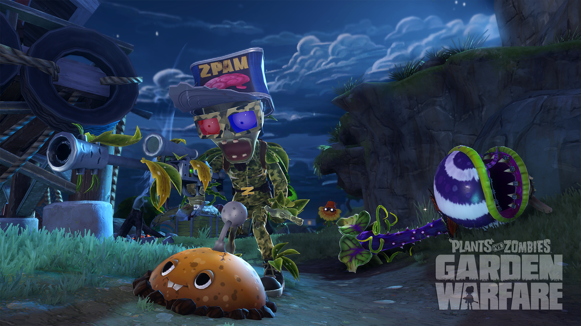 Plants Vs Zombies Garden Warfare Xbox One Review Guns